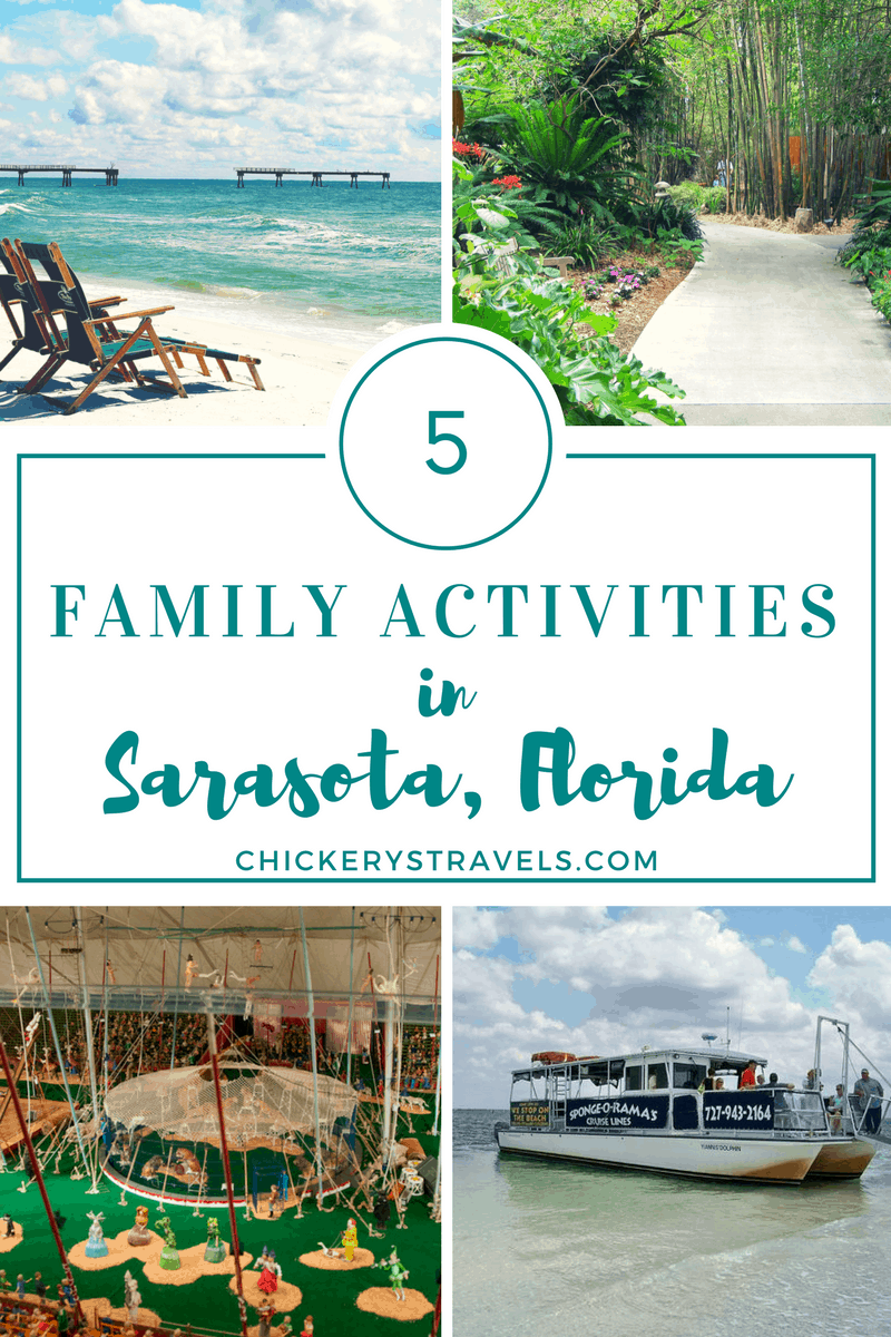 Learn about these family friendly activities in Sarasota, Florida. There are enough attractions to keep the entire family happy. From the Ringling museum, white sand beaches, and botanical gardens, and Myakka River State Park you can't go wrong with a visit to Sarasota.