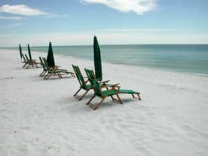 Sarasota is close to many Gulf coast beaches. Pick one or stay a few days and enjoy them all!