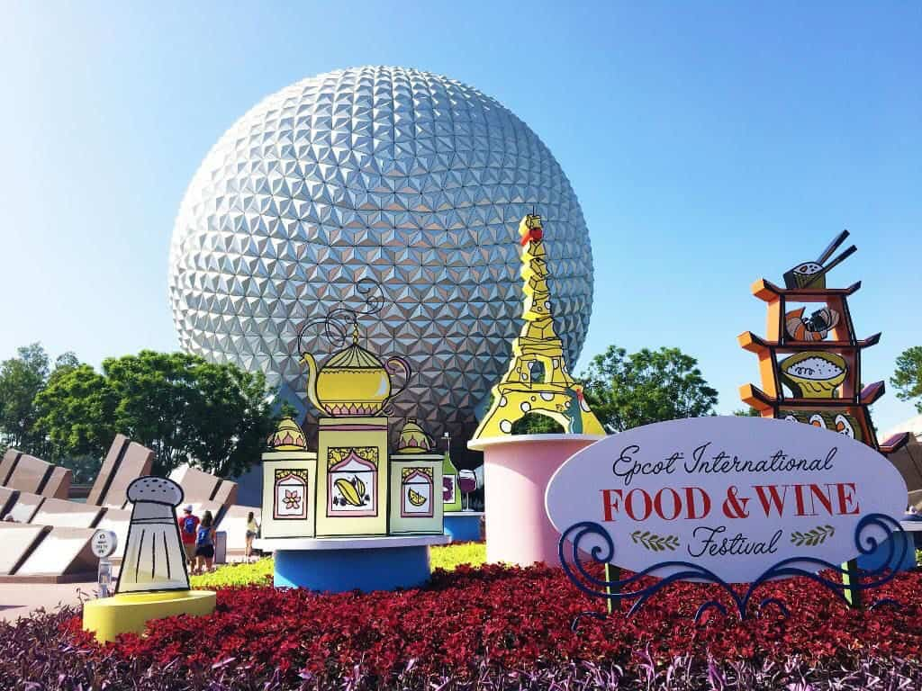 Epcot Food and Wine Entrance