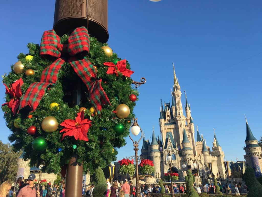 Don't Miss Christmas at the Magic Kingdom! Walt Disney World hosts Mickey's Very Merry Christmas Party each November and December.