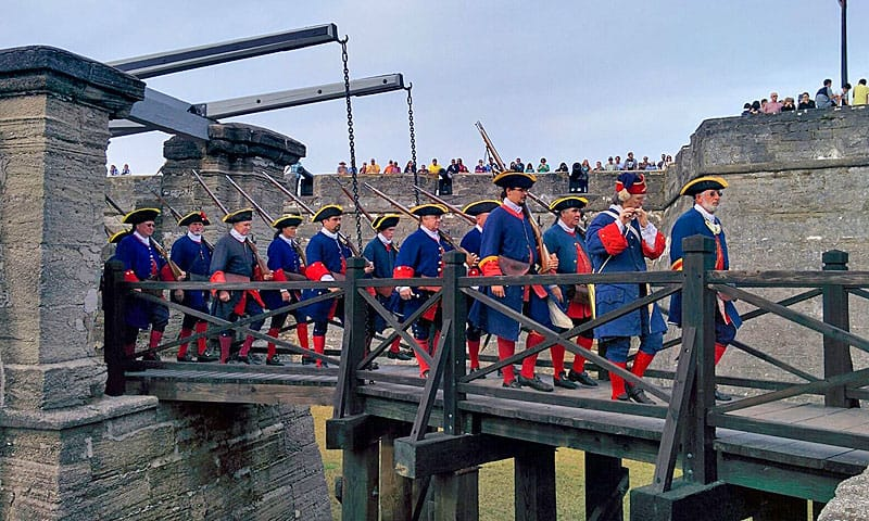 St. Augustine historical re-enactments