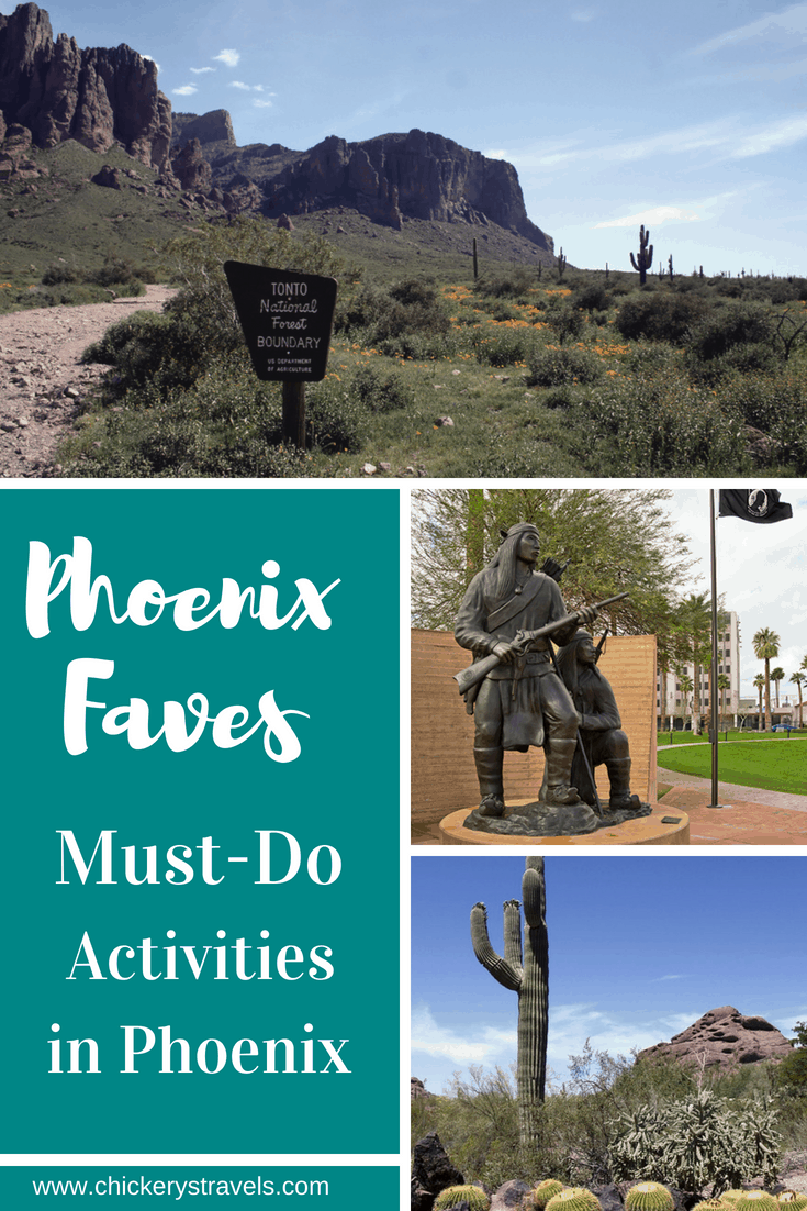 Read about the best attractions and things to do in Phoenix, Arizona. From the Botanical Gardens to hiking and museums, there is something for everyone.