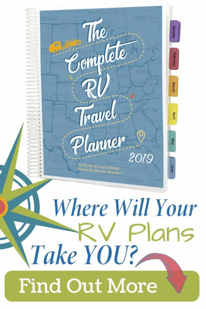 Because of the number of campers out there especially during camping season, waiting until the last minute for reserving places you want to visit, is no longer an option. This planner will help you get organized and keep track of all your trip ideas and reservations.