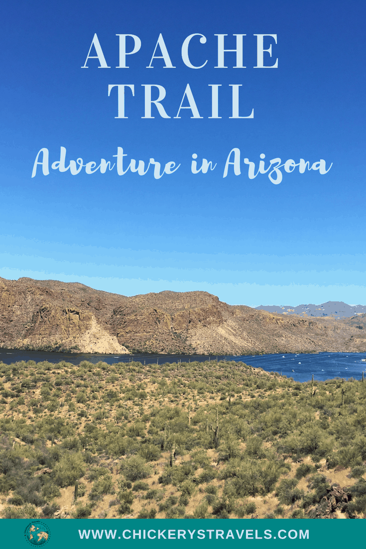 Travel on the Apache Trail in the desert near Phoenix! You'll pass Tonto National Forest, ghost towns, lakes and the Roosevelt Dam. Stop for pictures at Tortilla Flats and several other scenic stops.