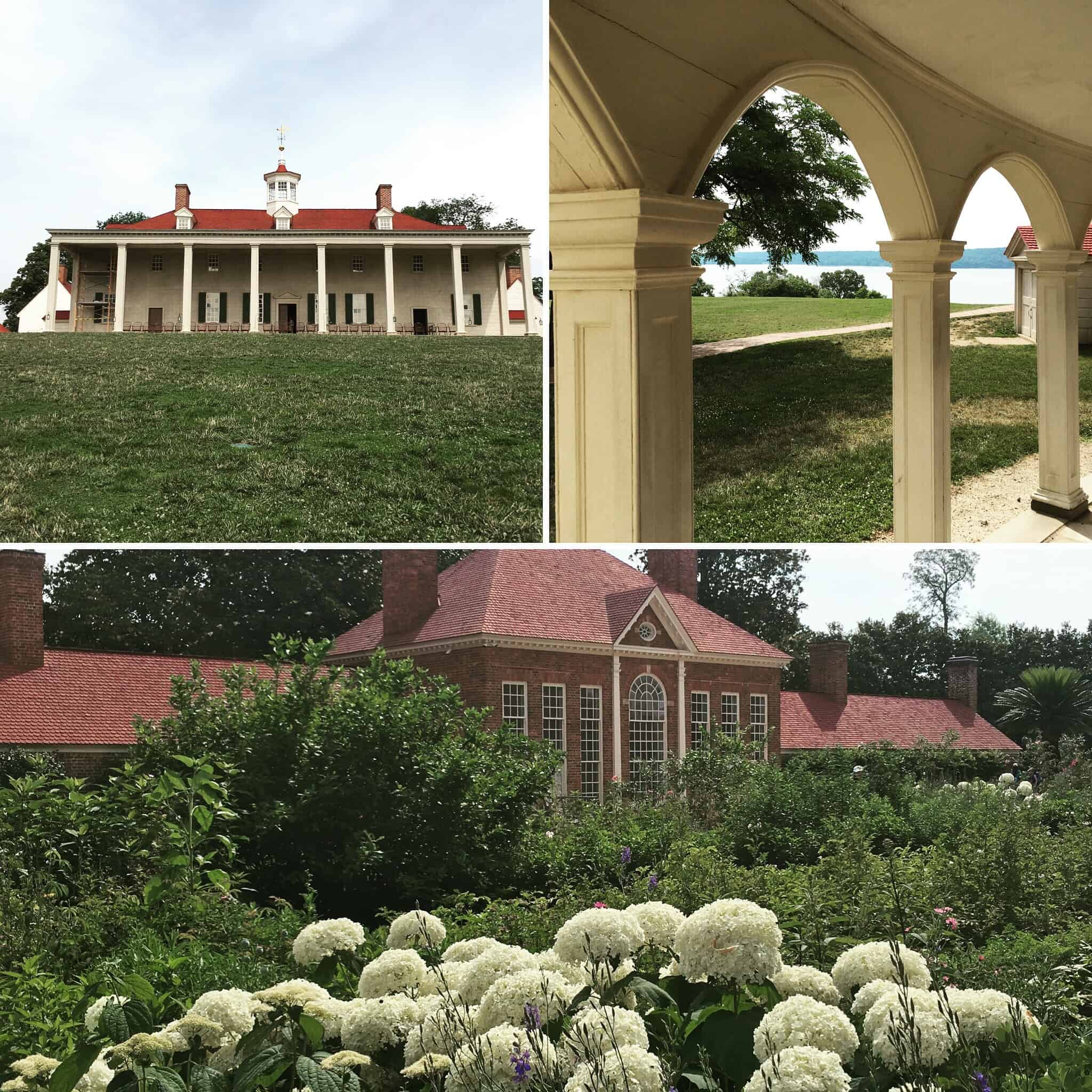 Collage of Mount Vernon