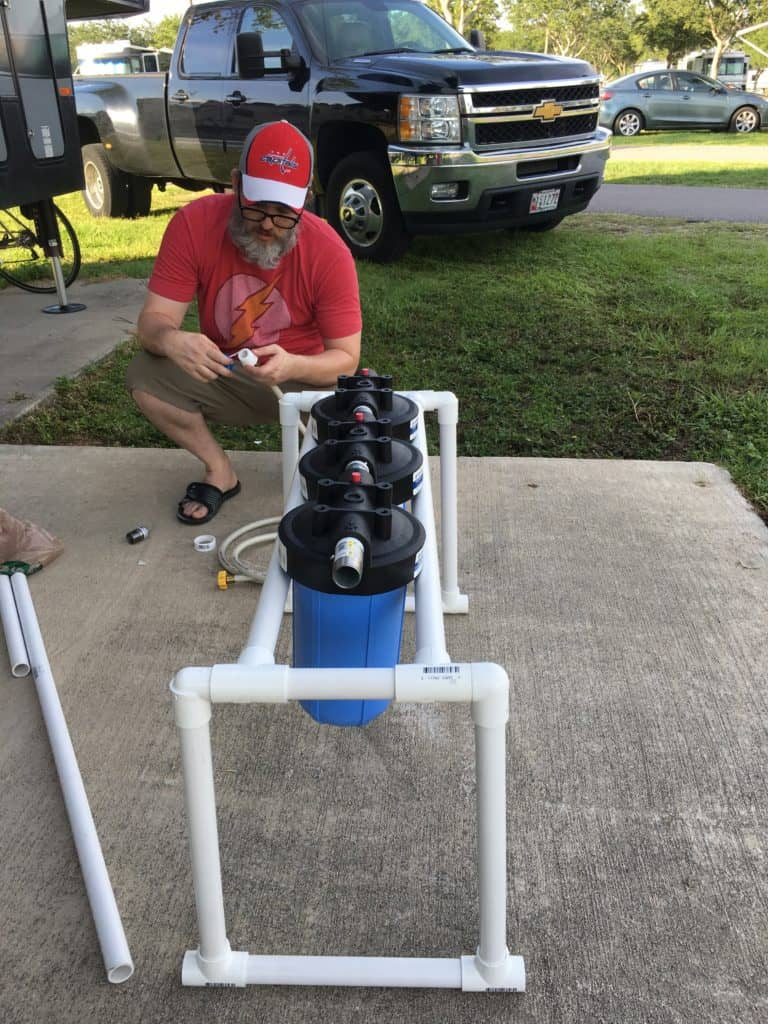 DIY RV Water Filtration System Build