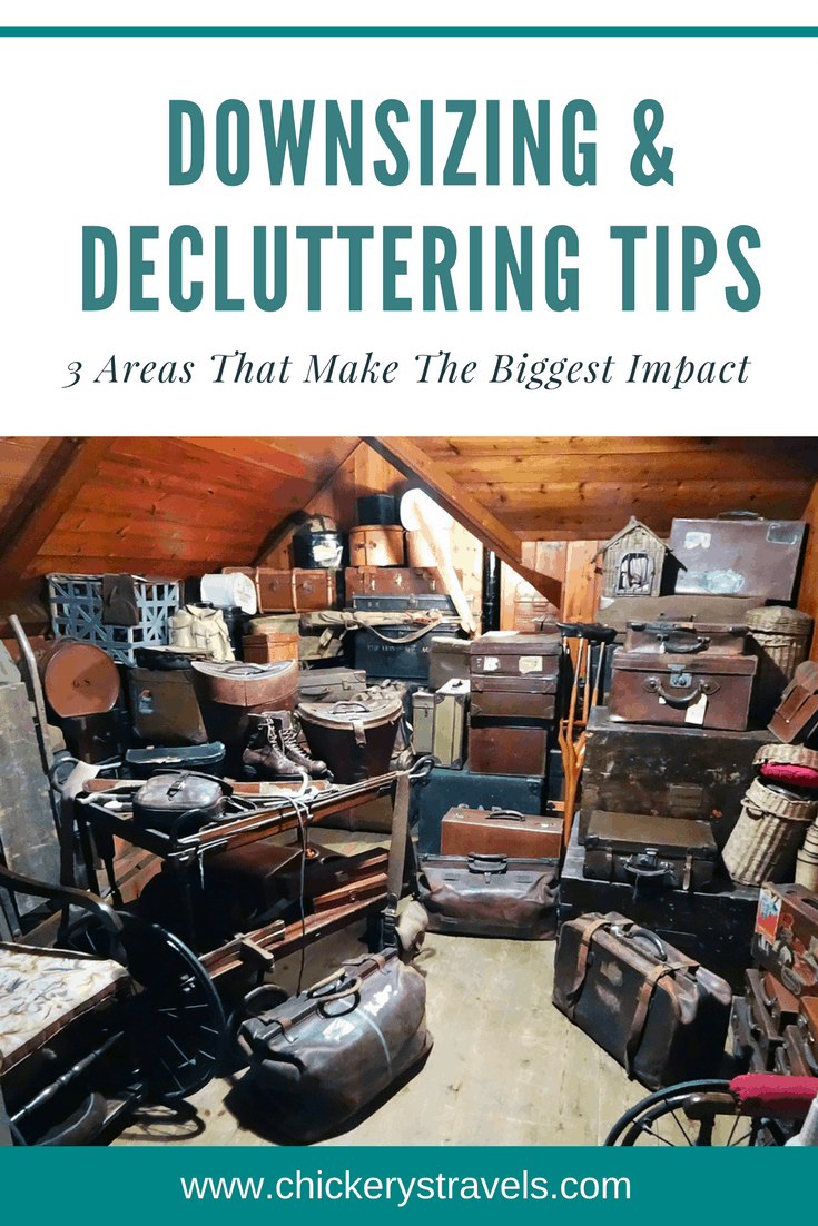 Considering a switch to minimalism or moving into an RV or tiny house? Use these tips for downsizing and decluttering your home and your life.
