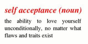 Self acceptance definition