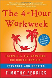 Must read books for Full-Time RVers. The 4-Hour Workweek.
