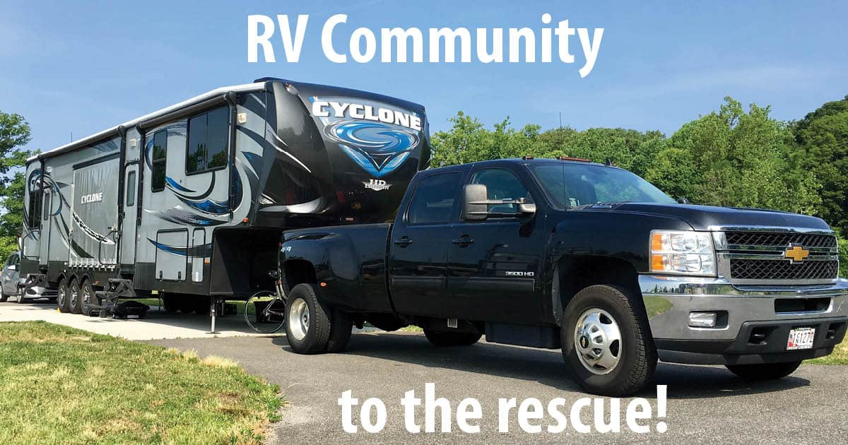 RV community banner