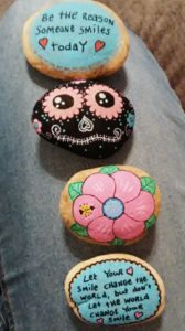 Learn about the painted rock craze sweeping the nation. It is a fun and relatively inexpensive hobby the whole family can enjoy. Paint your rocks and hide them. Then you can join some FaceBook groups to see if anyone posts a picture of yours.