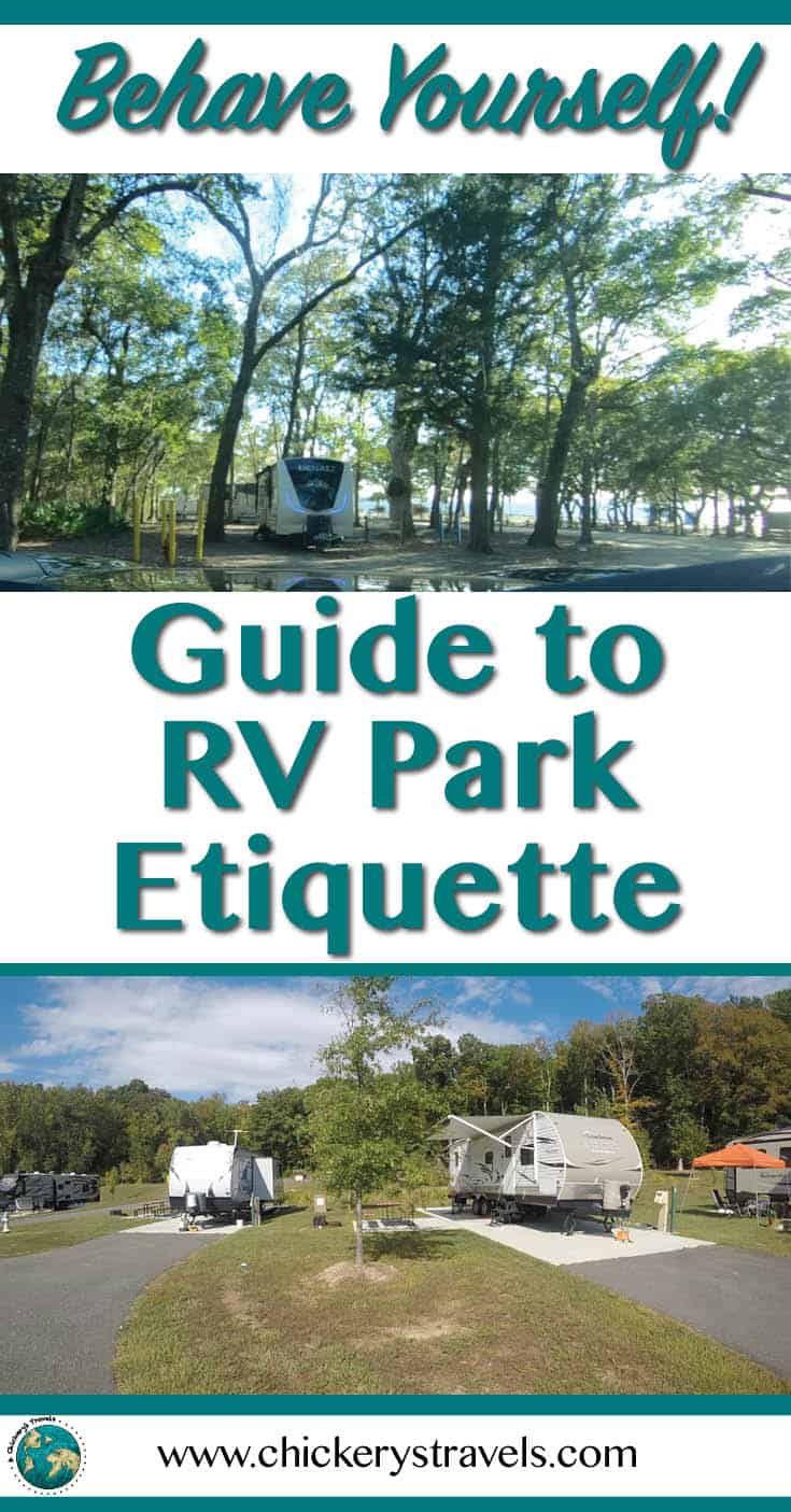 Follow these unwritten rules to be a good camping neighbor in both a campground and an RV resort. Watch out for these pet peeves and make everyone a happy camper no matter what type of RV (motorhome, camper, fifth wheel, or travel trailer).