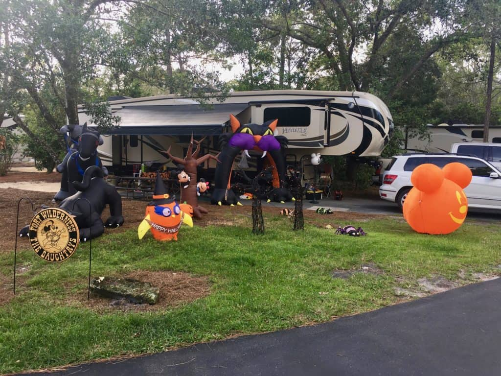 Enjoy Halloween At Disney World S Fort Wilderness