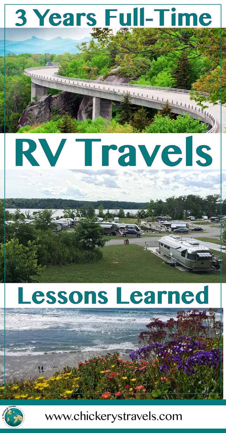 Read our lessons learned and biggest regret from 3 years RV living in a 5th wheel. We share tips and ideas to enjoy your RV life as a family. #RVlife