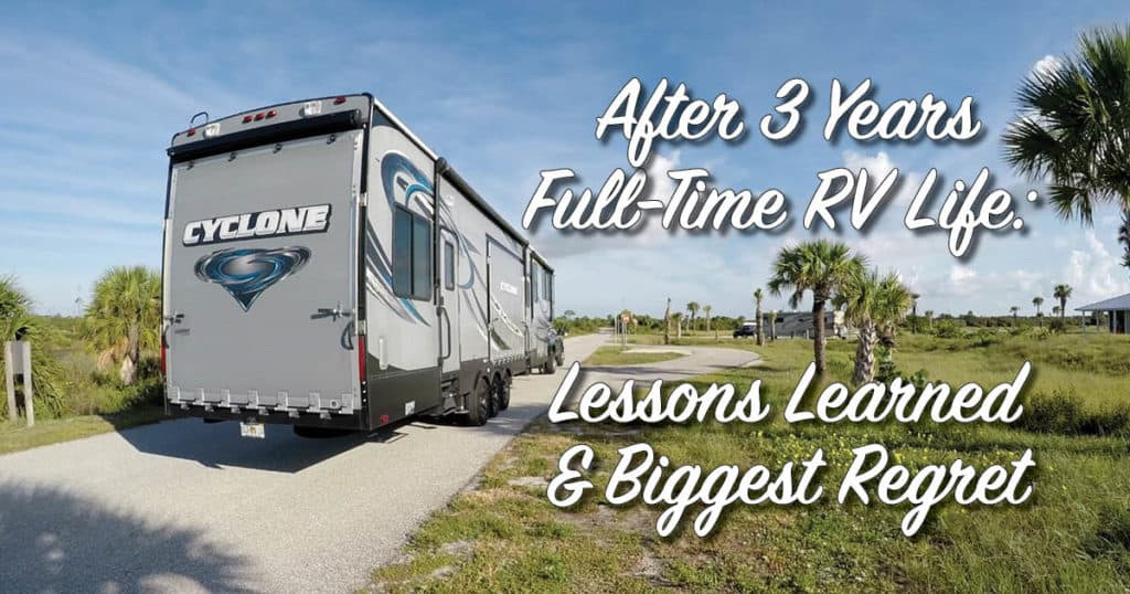 RV Lessons Learned Banner