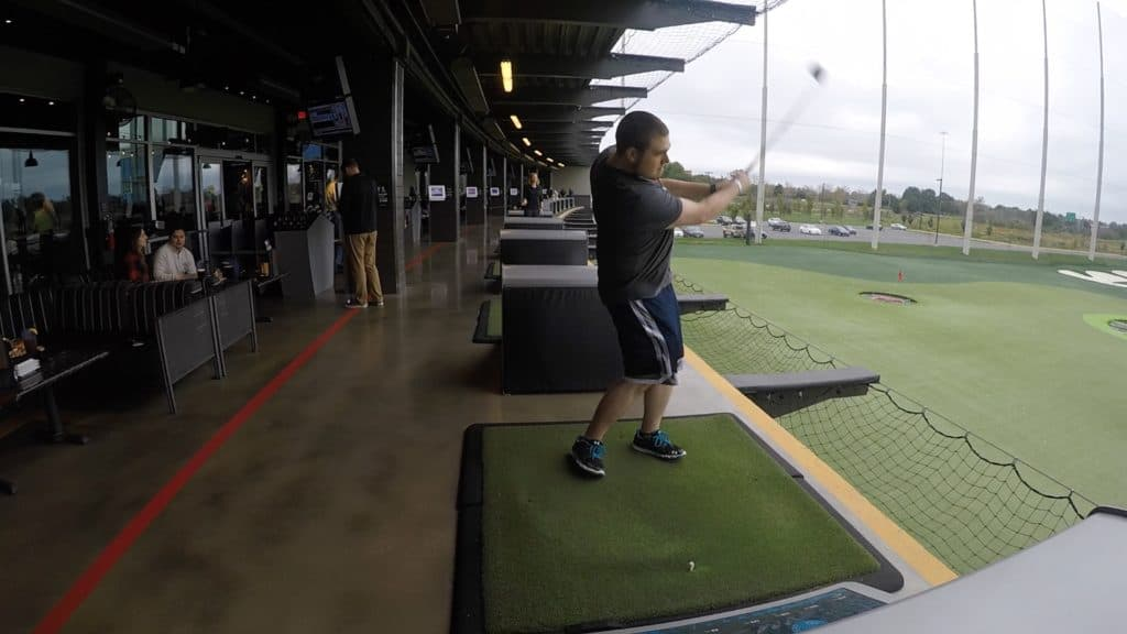 Top Golf swing
