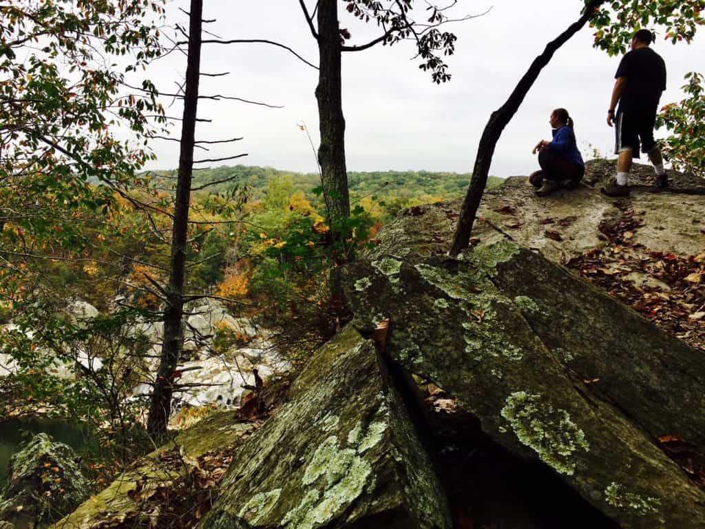 Bluffs along the Potomac River