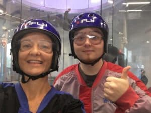 iFly Julie and Richie