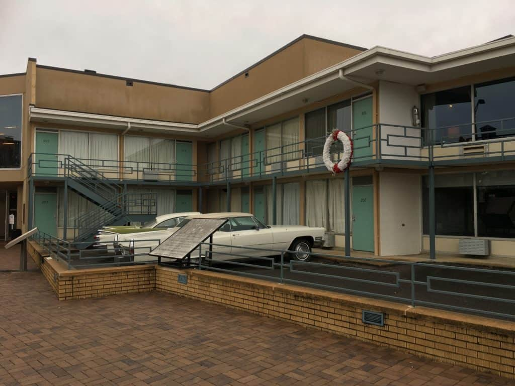 Exterior Civil Rights Museum at Lorraine Motel