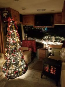 RV Class A Christmas Tree