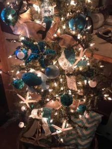 RV Beach Themed Christmas Tree Ornaments