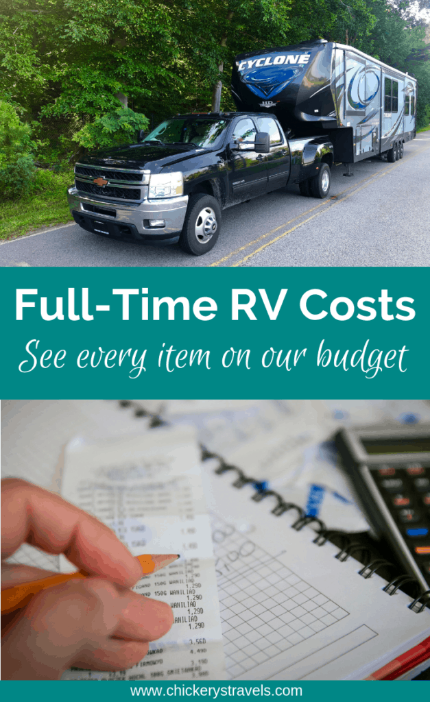 Have you ever wondered how much it costs to travel full-time in an RV? This guide shows every single item on our full-time RV budget to help you plan your expenses.