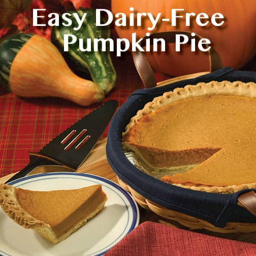 Easy Dairy Free Pumpkin Pie Recipe For Small Kitchen Cooking