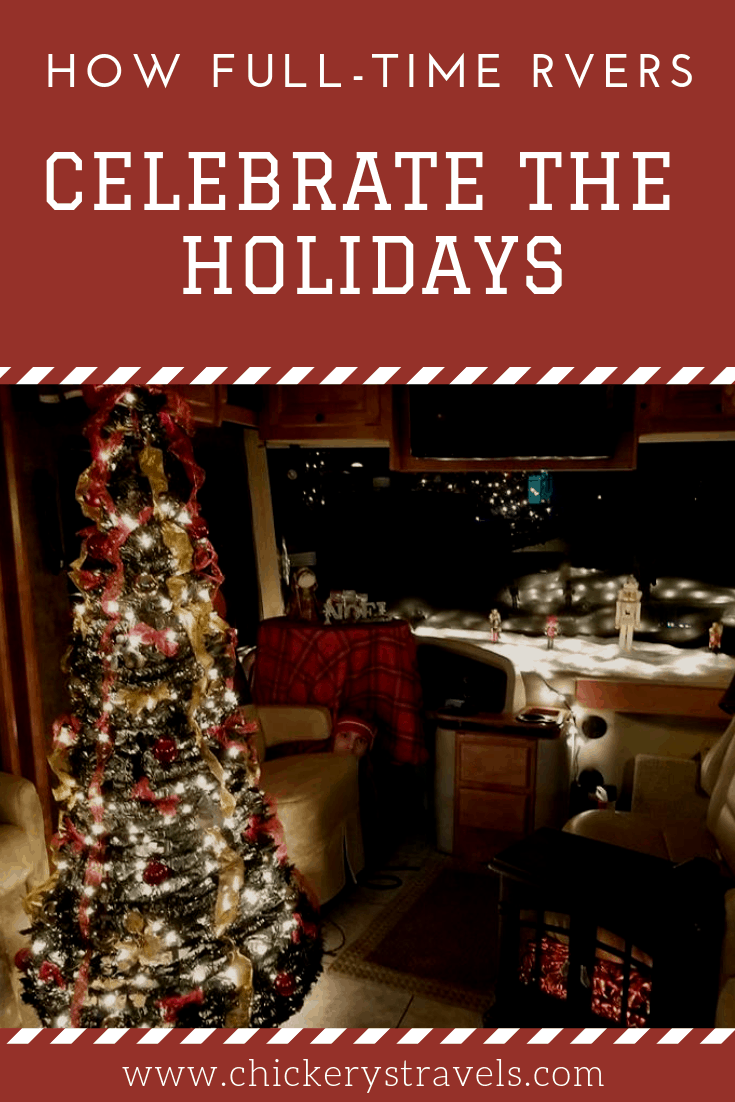 Learn what several full-time RVers do to celebrate the holidays from the road. Christmas and other holidays can be a lot of fun in an RV, motorhome, fifth wheel or camper.