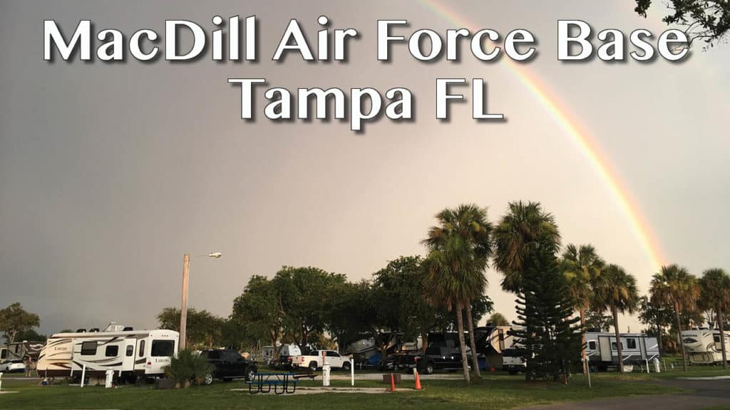 Campground Review of the MacDill Air Force Base FamCamp in Tampa FL. See why it should be on your list of campgrounds for your family trip!