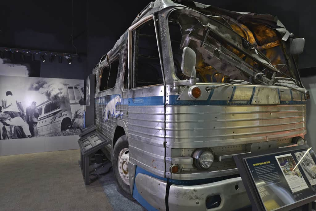 Freedom Riders Exhibit at the National Civil Rights Museum