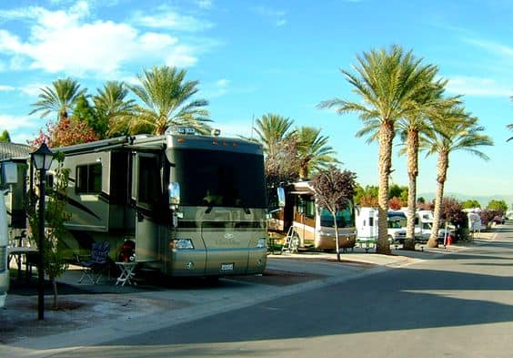 Oasis RV Resort in Las Vegas Nevada