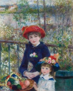 See Renoir's Two Sisters at the Art Institute of Chicago