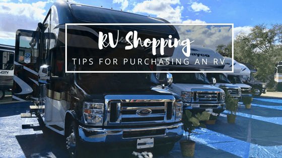 Download your free 8-page RV shopping guide full of tips for purchasing an RV.