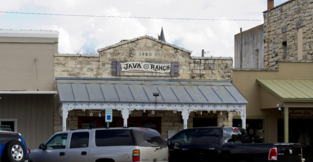 Enjoy coffee and lunch at the Java Express Cafe in the heart of historic Texas Hill Country, Fredericksburg TX