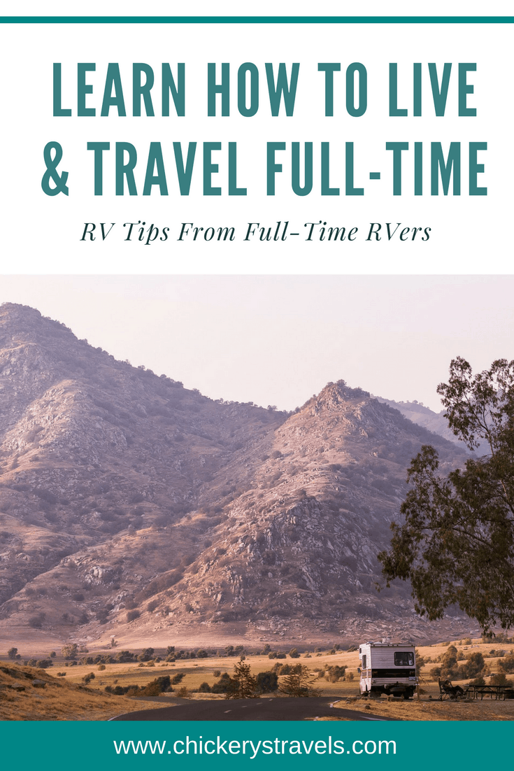 Learn how to live and travel full-time in an RV. RV travel is a great way to satisfy your wanderlust. Go a great road trip and see the US by camping in a motorhome, travel trailer, fifth wheel, or even a pop-up camper.