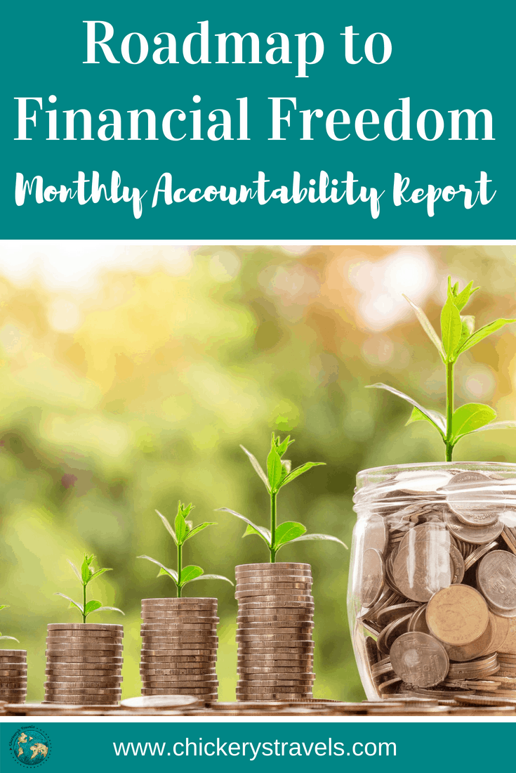 We share our tips for getting out of debt in our monthly Personal Financial Accountability report. Includes lessons learned and ideas for saving money.