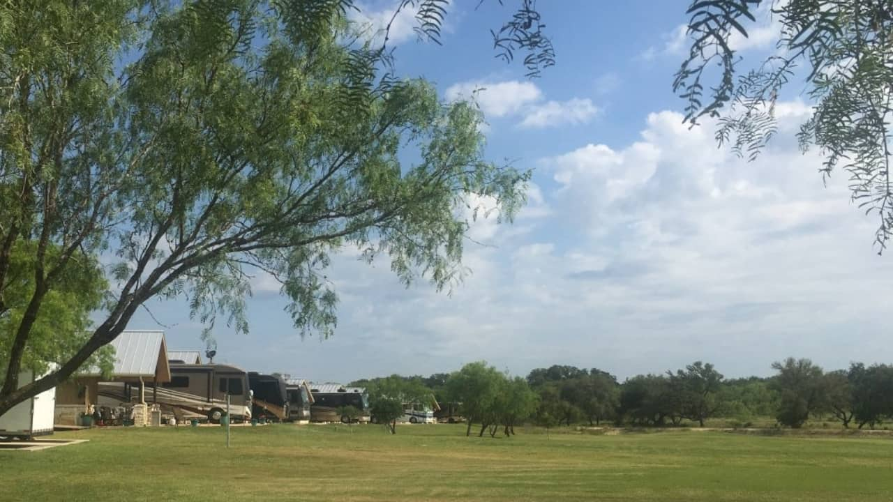 Located just outside of San Antonio, Texas, the Alsatian RV Resort is the perfect spot to stay while we visited our sons. The RV resort has 60 level, paved RV sites with beautiful landscaping, full hook-ups (water, sewer, electric), Wi-Fi, propane delivery, and trash pick-up.