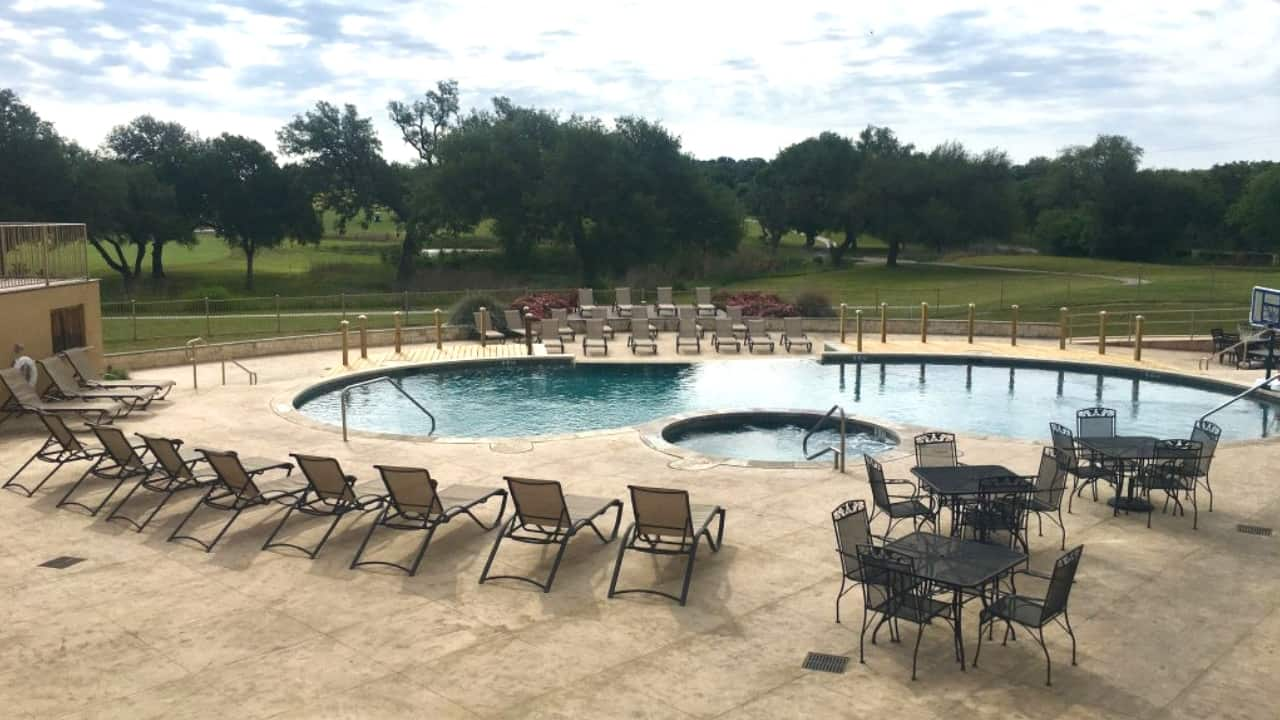 "Not every campground that bills itself as a ""resort"" lives up to its name—but Alsatian RV Resort in Castroville sure does! They have a fitness room, and beautiful outdoor area with a huge covered pavilion and a pool & hot tub."