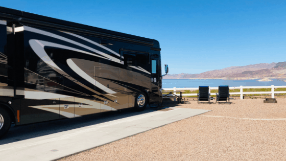 There is a privately managed campground overlooking Boulder Beach, called Lake Mead RV Village. It has 115 full hook-up sites with nightly rates from $34 to $50. However, you can do much better with the weekly or monthly rate. With the monthly rate, you save 50% of the nightly cost!