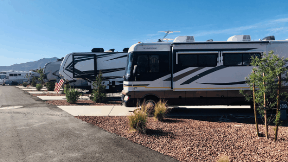 Desert Eagle Campground, the FamCamp at Nellis Air Force Base has recently added over 100 campsites.