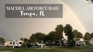Learn about the Military Campground on MacDill Air Force Base in Tampa, FL