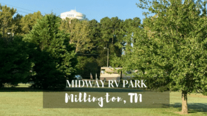Learn about the Military Campground Midway RV Park in Millington TN