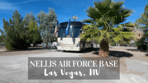 Learn about the Military Campground on Nellis Air Force Base in Las Vegas NV
