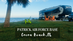 Learn about the Military Campground on Patrick Air Force Base in Cocoa Beach, FL
