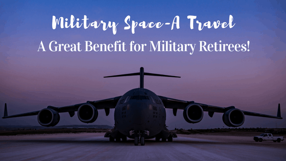 Learn why Military Space-A Travel is such a great benefit for military retirees. Make the most of your retired military benefits and use space-a flights to travel both in the United States and abroad. Space-A travel can be a great way to see the world!