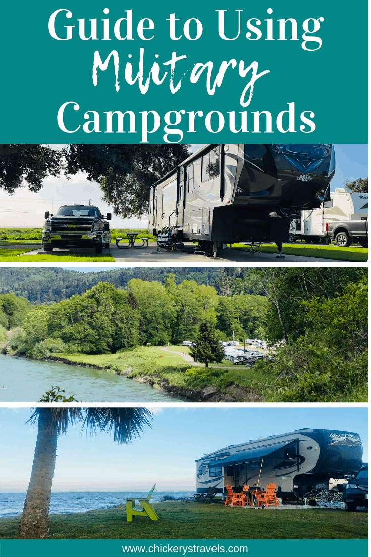 Situated in some of the most picturesque vacation destinations, military campgrounds and the bases they reside on offer numerous amenities. And they are usually a great value! Read this guide to learn more about how to stay in military campgrounds in your RV, motorhome, fifth wheel, trailer, or even pop up camper.