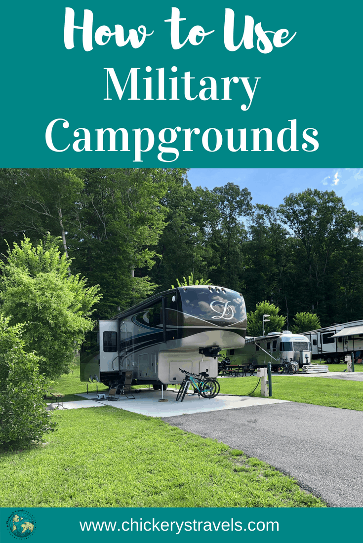 Learn Tips and Tricks for Using Military Campgrounds. They are a great option for active and retired military, as well as 100% DAV and DOD civilians. These campgrounds and RV parks are often in great locations, with many amenities.