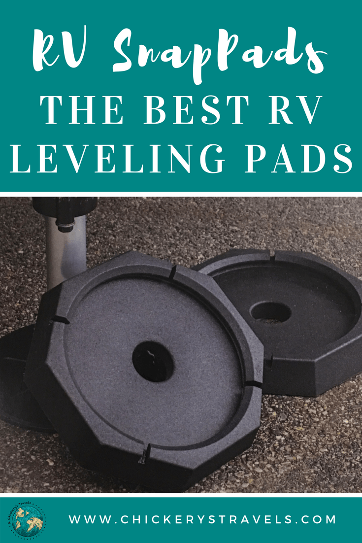 Check out these terrific RV and trailer leveling and stabilization pads. See how they work on our camper to help reduce vibration and protect our tiny house. Find more ideas as well links for shopping and other products to make your family happy campers.