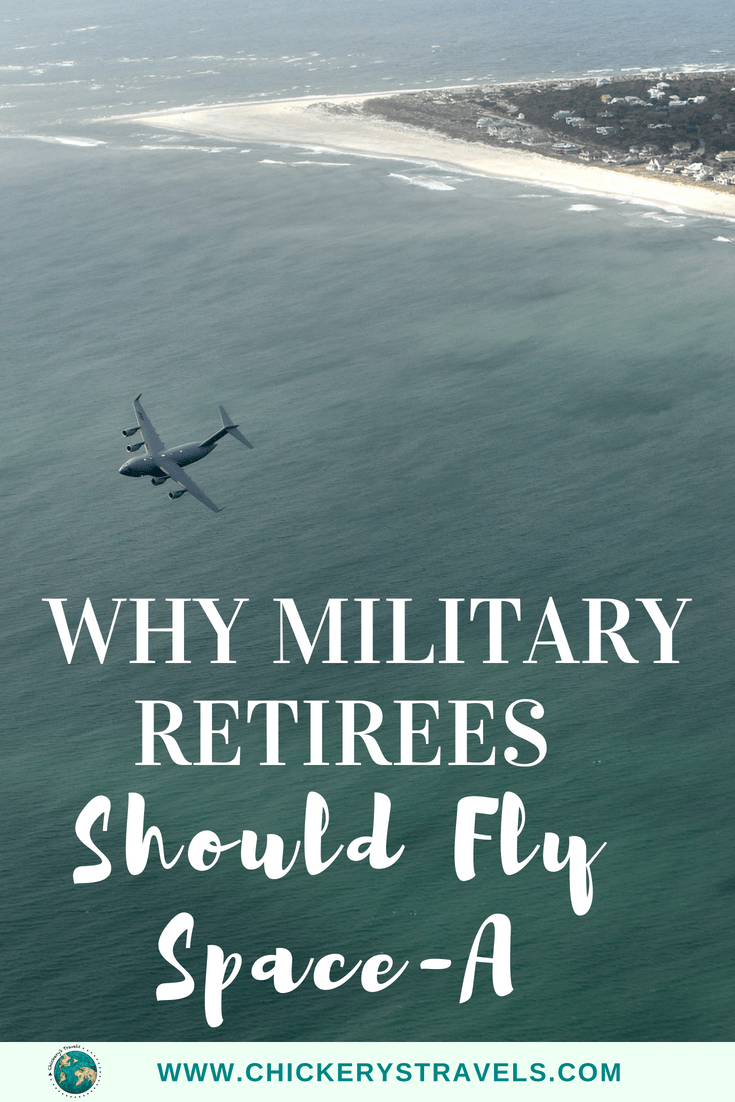 Read why military retirees should fly Space-A! This type of travel is one of the best ways to travel the world for retired military personnel. Learn how to fly space-a and tips for making your next trip a success.