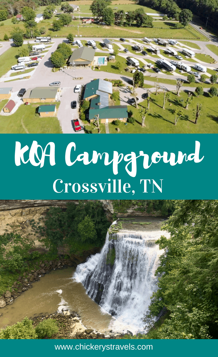 Learn why your family will love the Crossville KOA in Tennessee! Cabins, RV and tents sites mean there is a place for everyone and every budget. A swimming pool, game room and nearby waterfalls will ensure everyone is a happy camper. Visit the Crossville KOA in your RV, motorhome, fifth wheel, or camper.